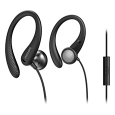 TAA1105BK/00  In-ear sports headphones with mic