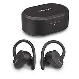 Bezdrátová sportovní sluchátka do uší