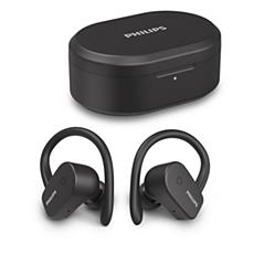 TAA5205BK/00  Kulak içi kablosuz spor kulaklığı