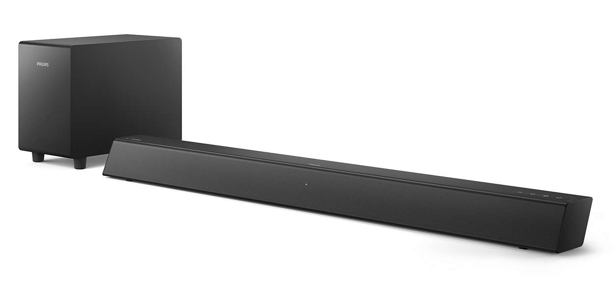 Step up your TV sound