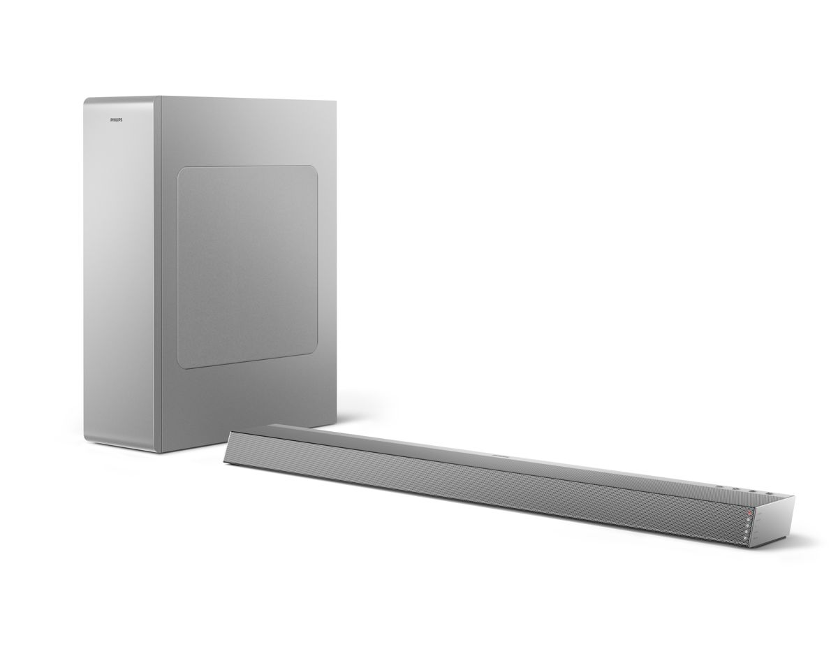 Philips Audio 2020: 2.1 Soundbar TAB6405/10