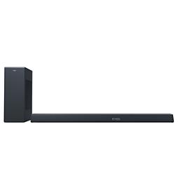 3.1-es soundbar, vezeték nélküli mélynyomóval