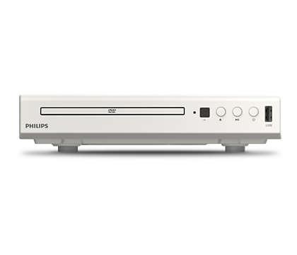 Uživajte – mogućnost reprodukcije svega, od DVD-a do USB-a