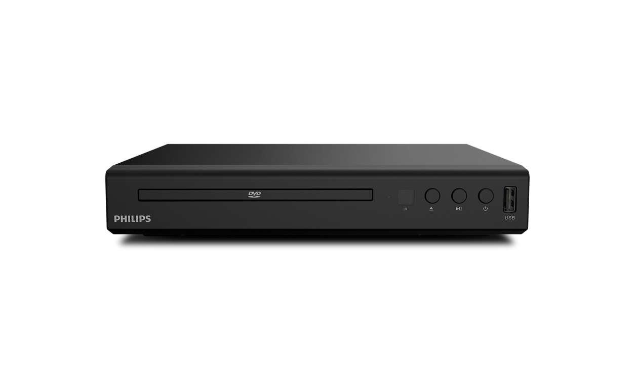 Nauti kaikesta sisällöstä – DVD-levyltä tai USB-liitännän kautta