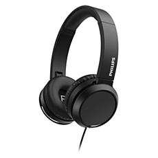 TAH4105BK/00  Fones de ouvido supra-auriculares