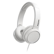 TAH4105WT/00  Hoofdtelefoon voor op het oor