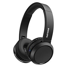 TAH4205BK/00  Headphone Nirkabel On-ear