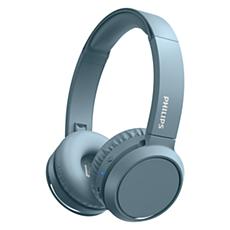 TAH4205BL/00  Headphone Nirkabel On-ear