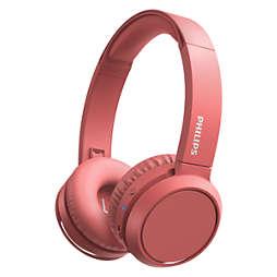 Draadloze koptelefoons voor op het oor
