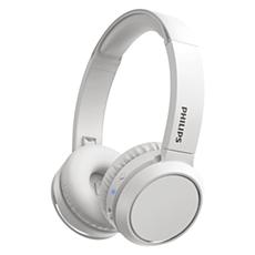 TAH4205WT/00  Headphone Nirkabel On-ear