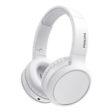 TAH5205WT/00  Wireless Headphone