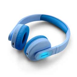 Bezprzewodowe słuchawki nauszne dla dzieci