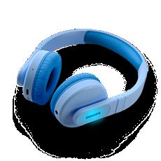 TAK4206BL/00  Trådlösa on-ear-hörlurar för barn