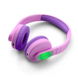 Trådlösa on-ear-hörlurar för barn