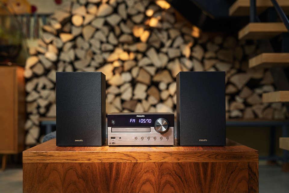 Elegantný vzhľad. Bohaté zvuky.