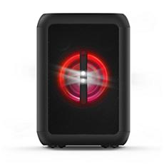 TANX100/37 BASS+ Haut-parleur de fête Bluetooth