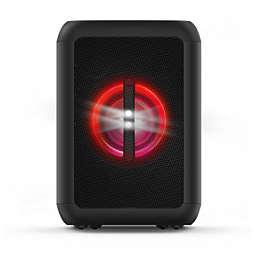Caixa acústica Bluetooth para festas