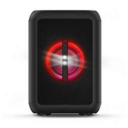 BASS+ Speaker pesta Bluetooth