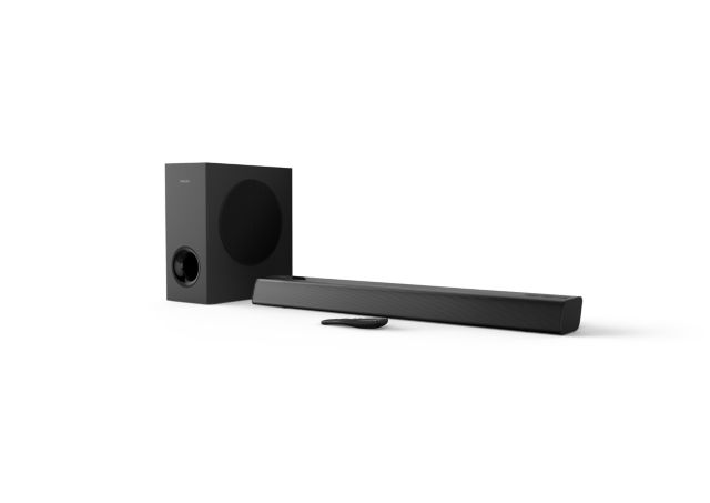 Philips TAPB405/10 Soundbar mit Google Assistant und AirPlay 2 (Audio Only)