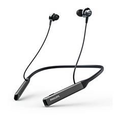 TAPN505BK/00  Draadloze Hi-Res in-ear-koptelefoon,