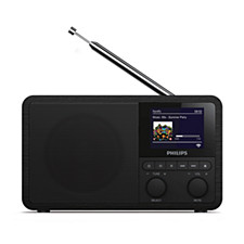 Radio and alarm clock