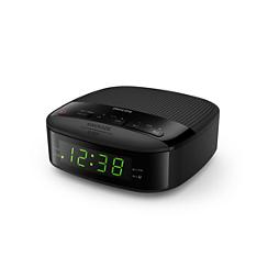 Philips Clock Radio TAR3205 FM, Digital tuning Dual alarm