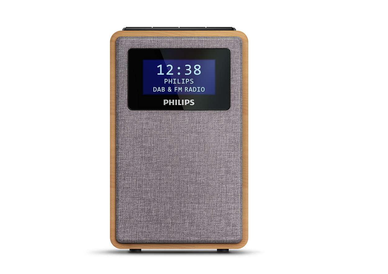 Veelzijdige thuisradio
