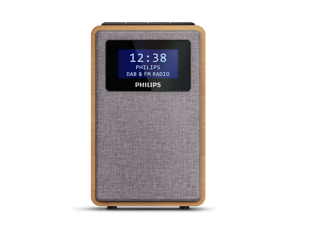 Rádio doméstico versátil