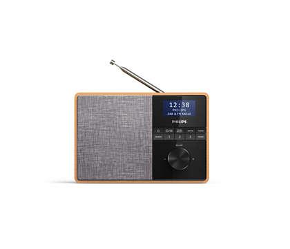 The kitchen radio