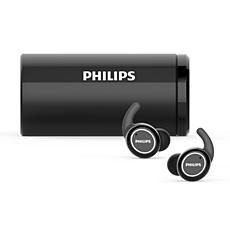 TAST702BK/00  Draadloze hoofdtelefoon