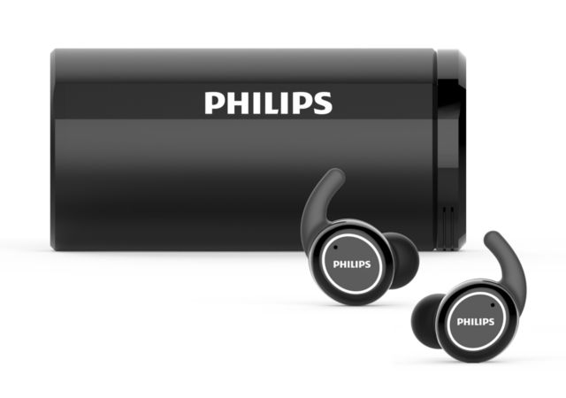 Philips 2019: True Wireless Sportkopfhörer TAST702BK/00