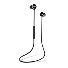 TAUN102BK/00  Wireless headphones with mic