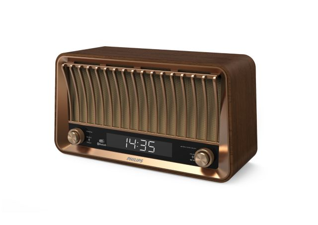 Philips Vintage UKW/DAB-Radio TAVS700/12 (VS700) mit Bluetooth