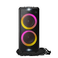 TAX5206/98  Bluetooth party speaker