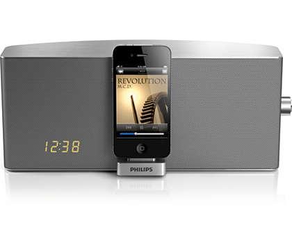 Écoutez la musique de votre iPod/iPhone