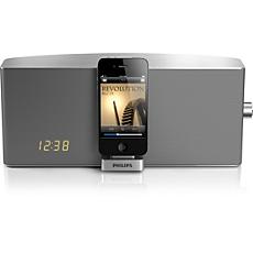 "TCI360/12  prijungimo stotelė, skirta ""iPod"" / ""iPhone"""