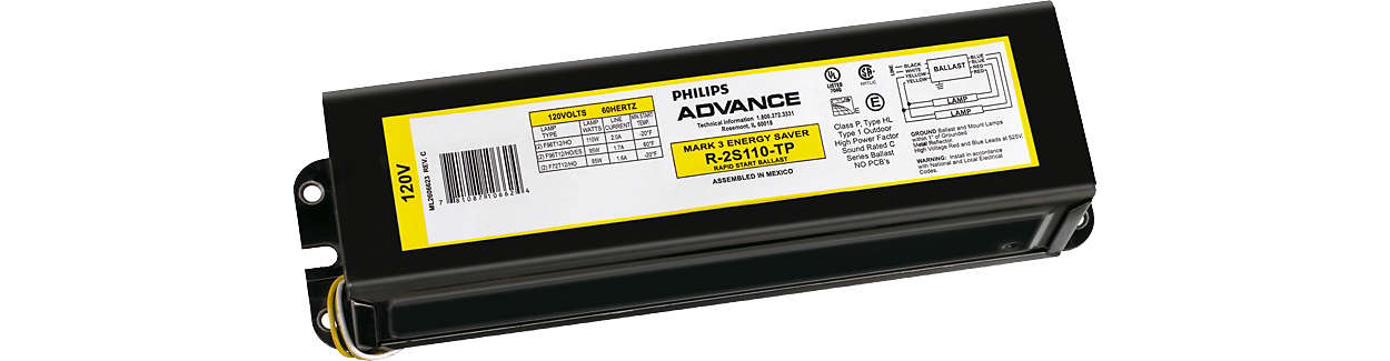 Appropriate choice for many linear fluorescent lamp types on the market