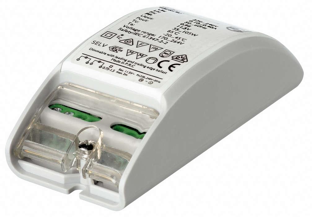 Primaline – Πολύ μικρός ηλεκτρονικός μετατροπέας για λαμπτήρες αλογόνου των 12 V