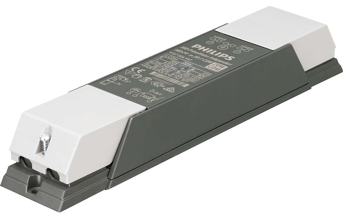 PrimaVision Mini (20 W, 35 W og 50 W) for CDM – liten størrelse, flere muligheter