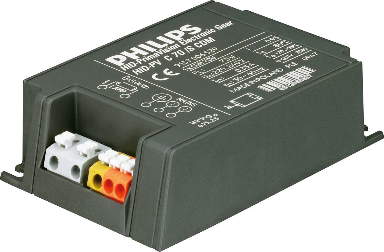 PrimaVision Compact (35W, 50W & 70W) for CDM - Qualité élevée et excellentes performances