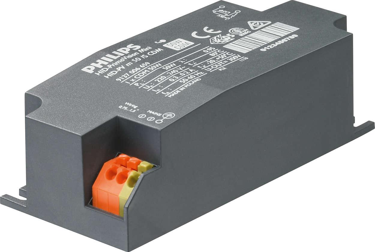 PrimaVision Mini (20W, 35W a 50W) pro CDM – miniaturní rozměry