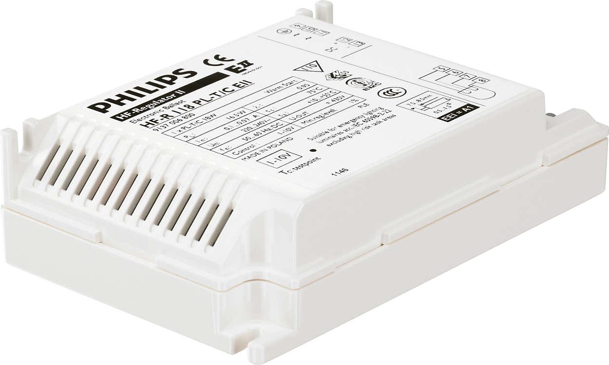 HF-Regulator II for PL-T/C – dimming: neste trinn innen energisparing