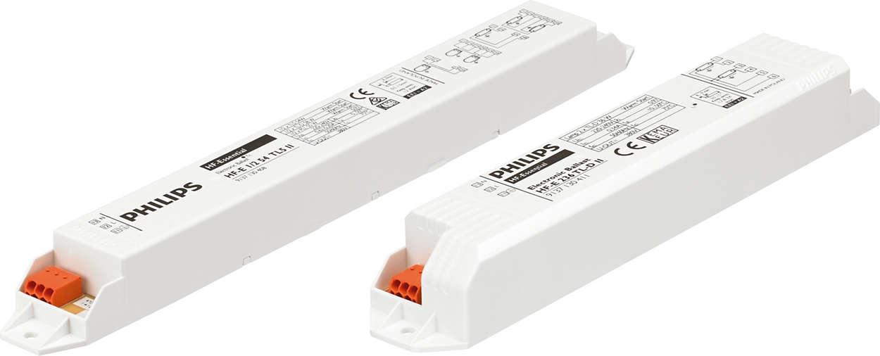 HF-Essential II για λαμπτήρες TL5 και TL-D