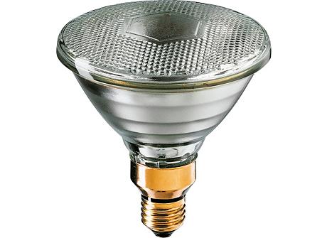 Reflector 250W Med Skt 120-130V PAR38 FL 1CT