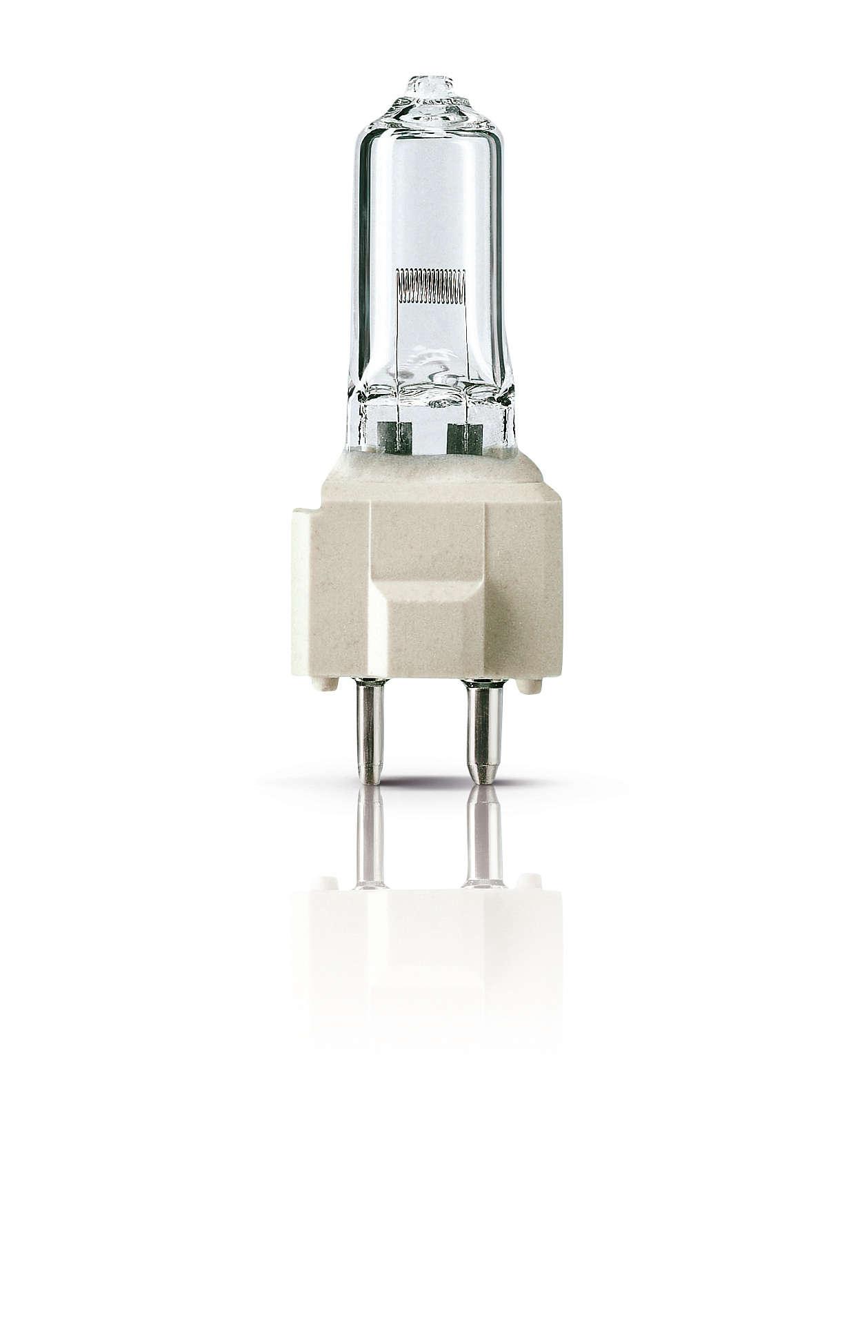 Lâmpadas não reflectoras de halogéneo – luz de alta qualidade e de fácil utilização