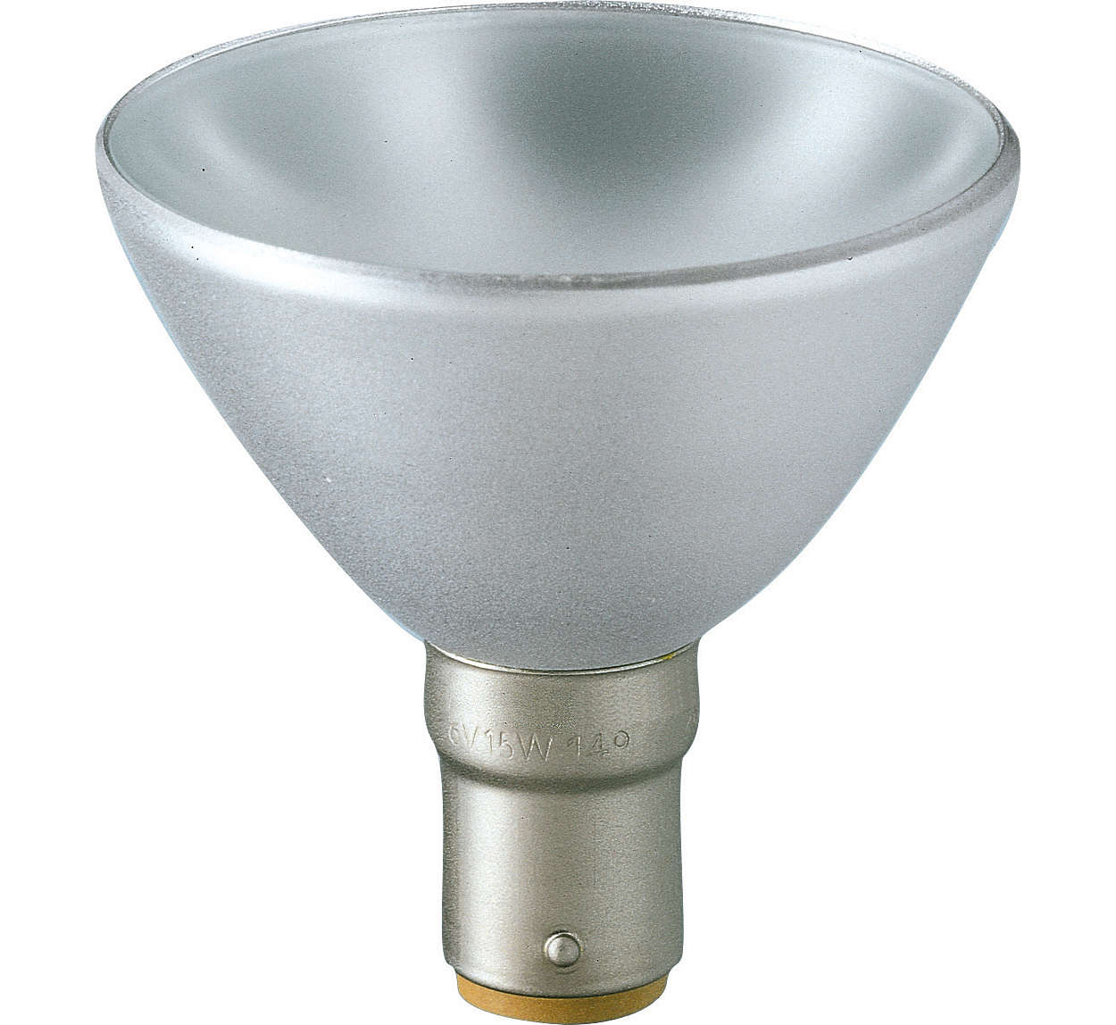 Lampes halogènes réflecteurs en aluminium de Philips
