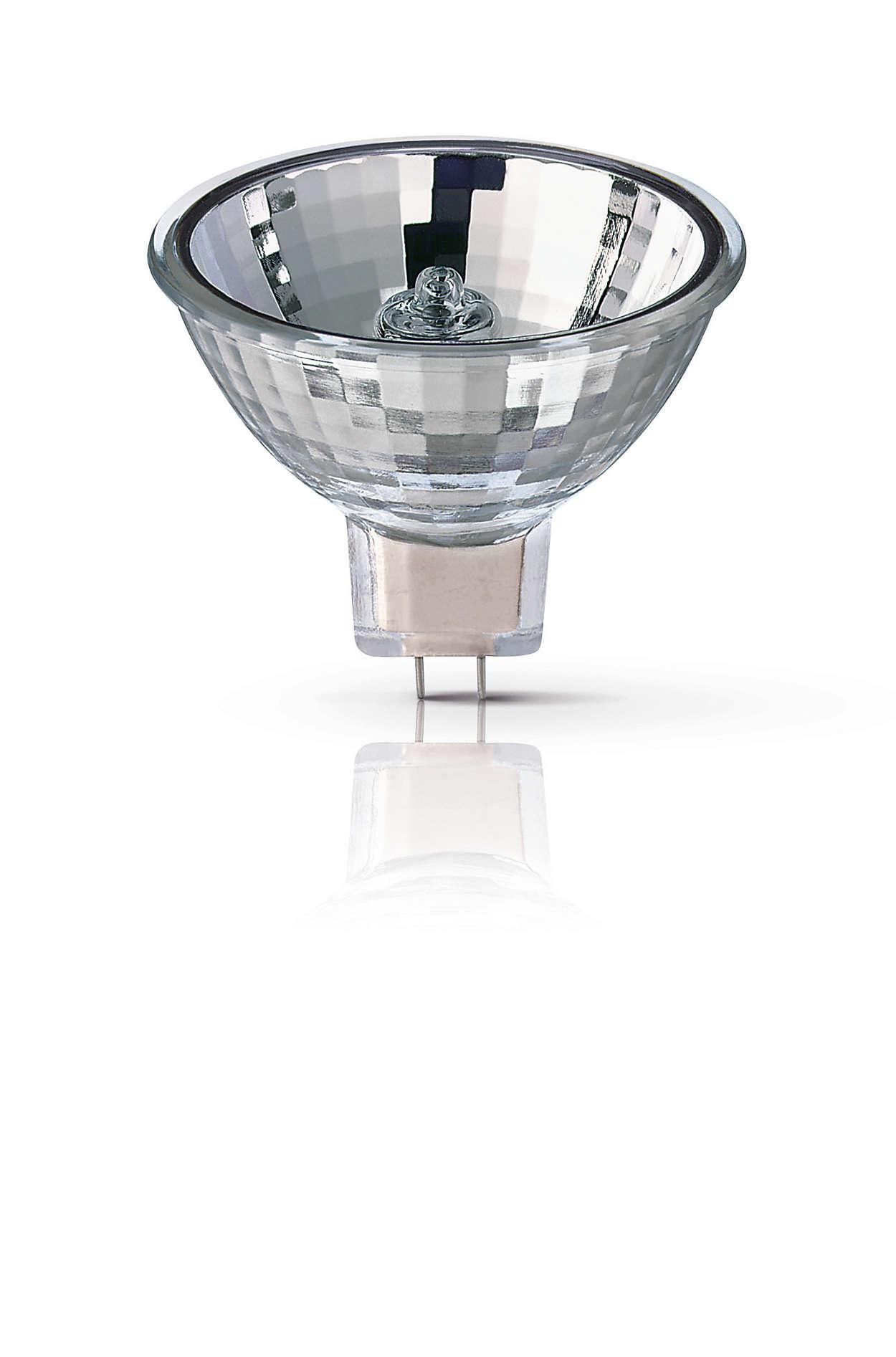 Halogen reflector lamps – proven reliability