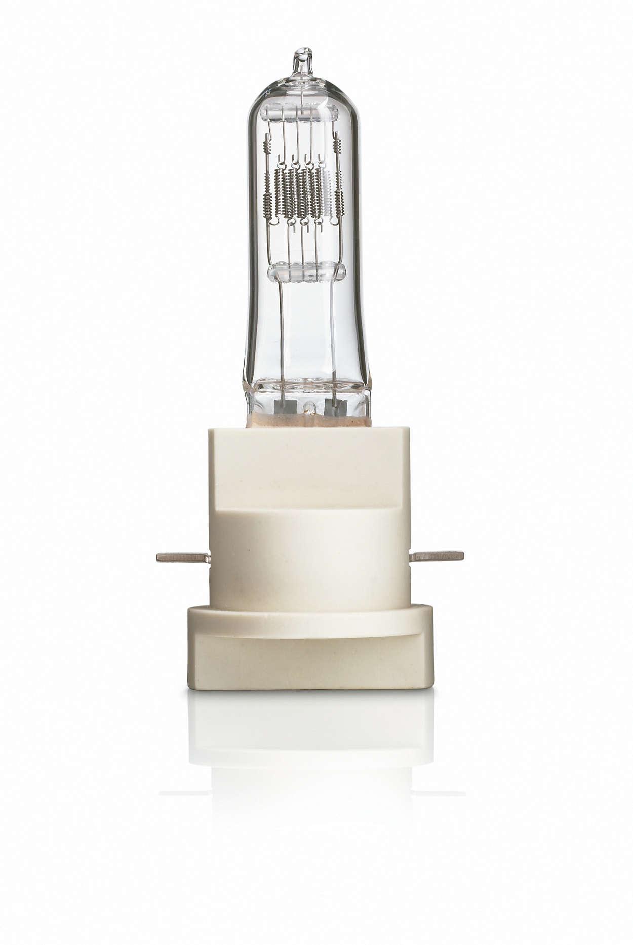 Halogen FastFit – lyskildeudskiftning på få sekunder.