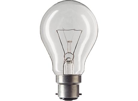 Standard 100W B22 230V A60 CL U 1SL/150