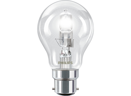 ClassicHalogen53W B22 240V A55 CL 1CT/10